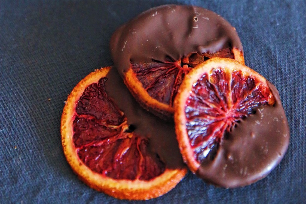 Spanish orange chocolate